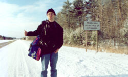Remember, a crisis is not always a crisis. In the wild and untamed Upper Michigan in the United States, I actually hitchhiked in a federal prison area with big signs: Prison area, do not pick up hitchhikers. This is a true story, read more here.,